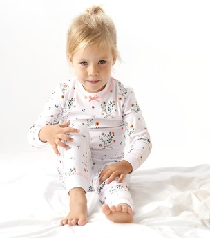 bloemetjes pyjama little label