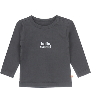baby tee anthracite world Little Label