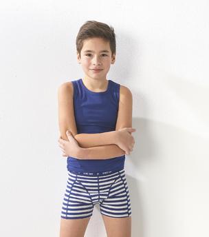 boxershorts jungen 3er-pack - blau tukan combi