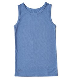 jongenshemd blauw Little Label