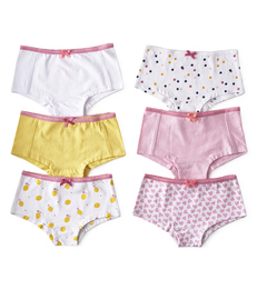 hipster set 6-pack - pink & yellow Little Label