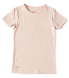 meisjes t-shirt - light pink Little Label