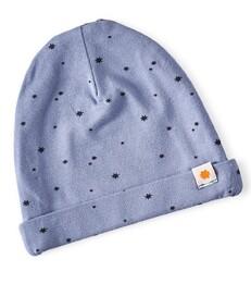 babymütze - medium blue star