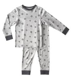 baby pyjama - star almost black - Little Label