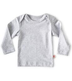baby Langarmshirt - grey melee