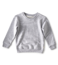 sweater grey melange  - Little Label