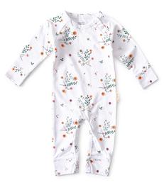 baby pakje wit bloemetjes print Little Label