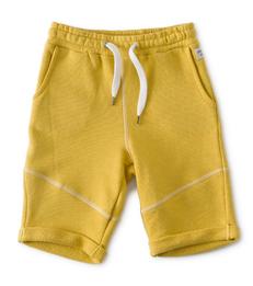 sweat shorts - geel- Little Label