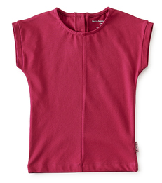 top meisjes - hard roze - Little Label