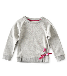 grijze meisjes sweater - Little Label