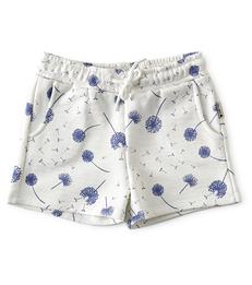 licht meisjes shorts dandalion print- Little Label
