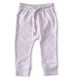 smal baby broekje - pink dots- Little Label