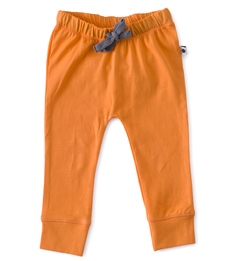 Smal baby broekje - oranje - Little Label