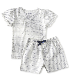 zomer pyjama meisjes - good night - Little Label