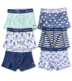 6-pack boxer shorts boys print combi multi Little Label