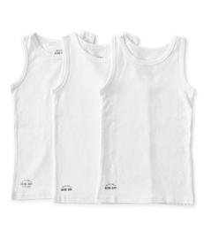 jongens hemden set 3-pack wit Little Label