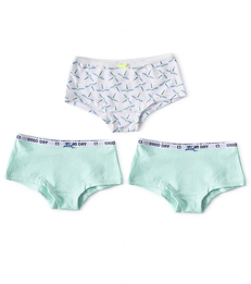 hipster set meisjes dragonfly blue combi Little Label