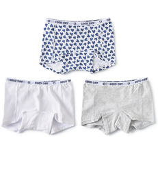 shorts setje meisjes blue hearts combi Little Label