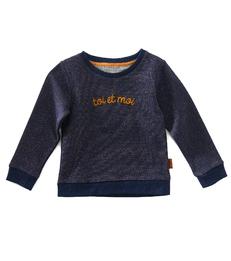 meisjes trui- blue copper sparkle TOI - Little Label