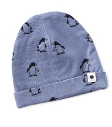 baby muts - penguin blue - Little Label