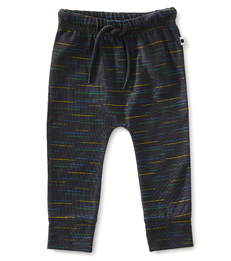Smal baby broekje anthracite multicolor little Label