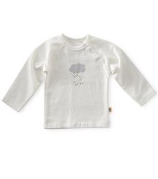 baby raglan shirt - off white cloud little Label