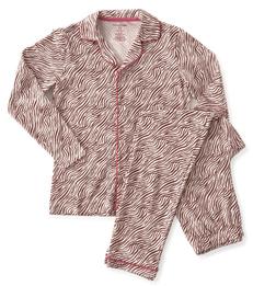 pyjamaset dames roze zebra Little Label
