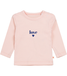 pink love baby t-shirt Little Label