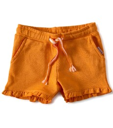 fancy meisjes sweatshorts -orange- Little Label