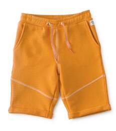 jongens shorts contrast - oranje- Little Label