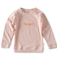 raglan sweater mädchen - light pink