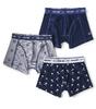 jungen shorts 3-pack - blue