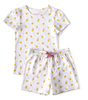 sommer schlafanzug - lemons