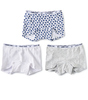 shorts mädchen 3-er pack blue hearts combi