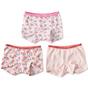 shorts mädchen 3-er pack rosa combi