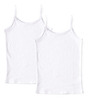 unterhemd mädchen 2-pack - weiß