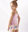 Hipster palm print lilac hemdje Little Label