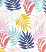 palm leaves pink Little Label