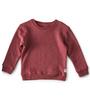 meisjes sweater darkrose  - Little Label