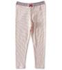 roze gestreepte baby leggings