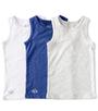 jongens hemden set 3-pack blue combi Little Label