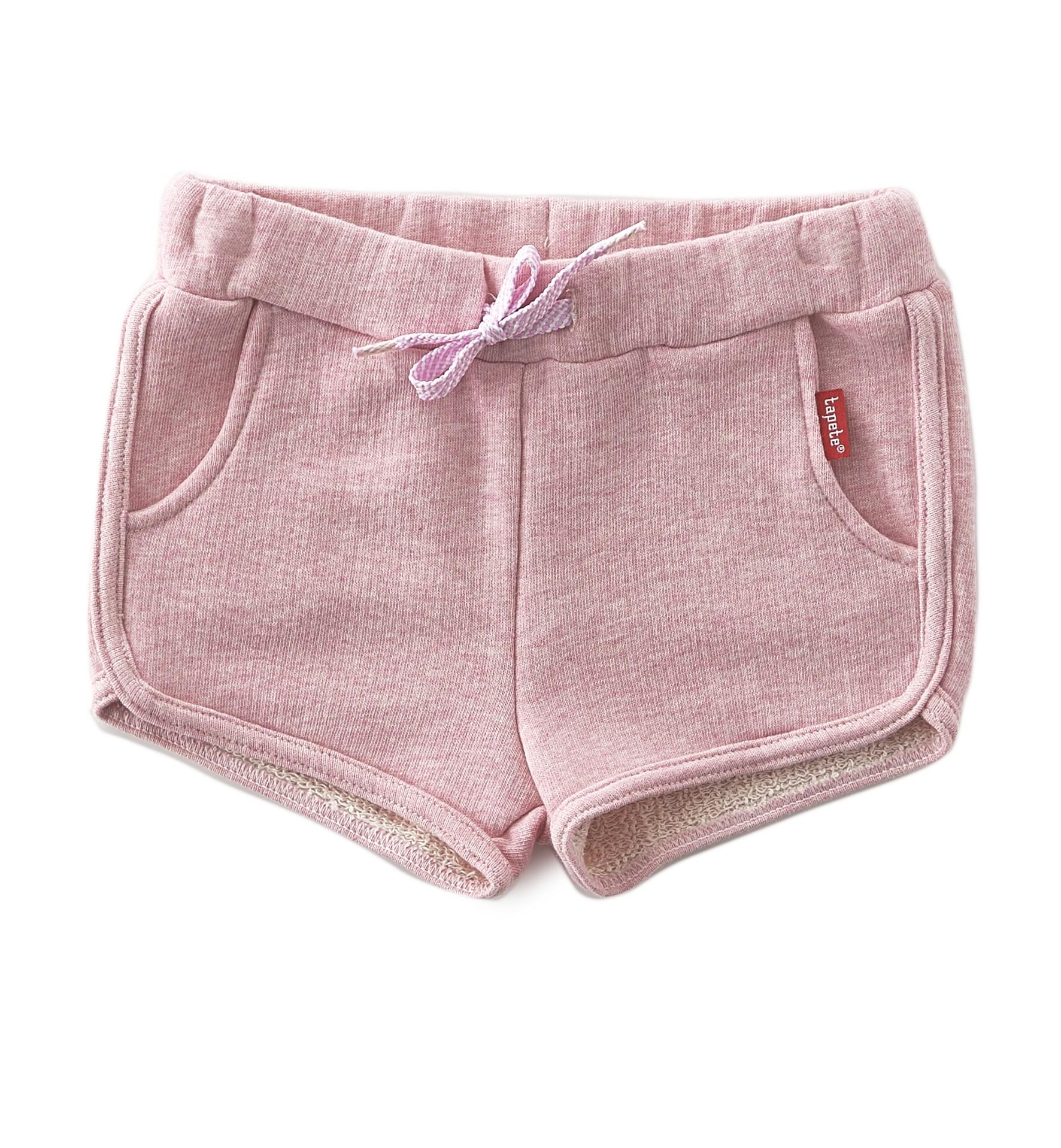 Kinderkleding En Babykleding Van Sweat Shorts Mädchen Rosa Tapete